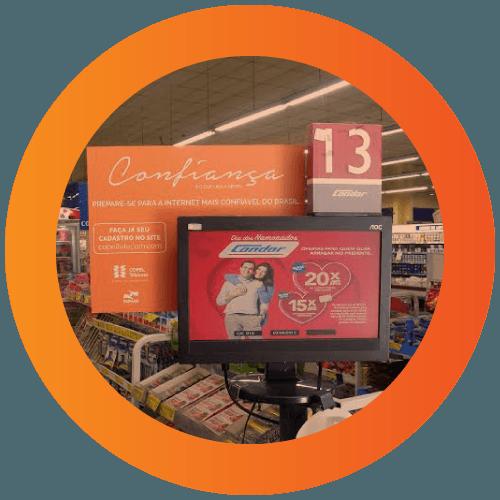Mídia em Supermercado